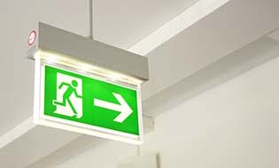 Exit sign thumbnail
