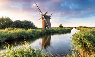 Norfolk windmill thumbnail