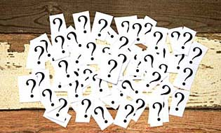 Question mark cards thumbnail