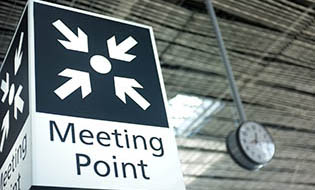 Meeting point sign thumbnail