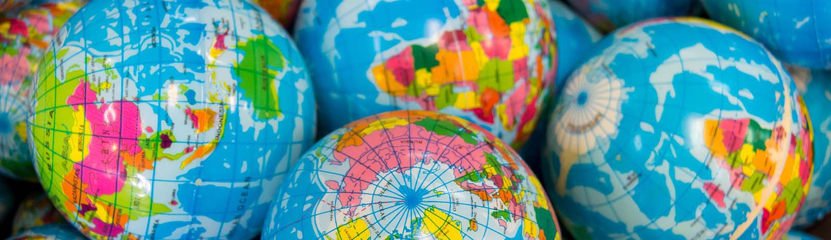 Inflatable globes